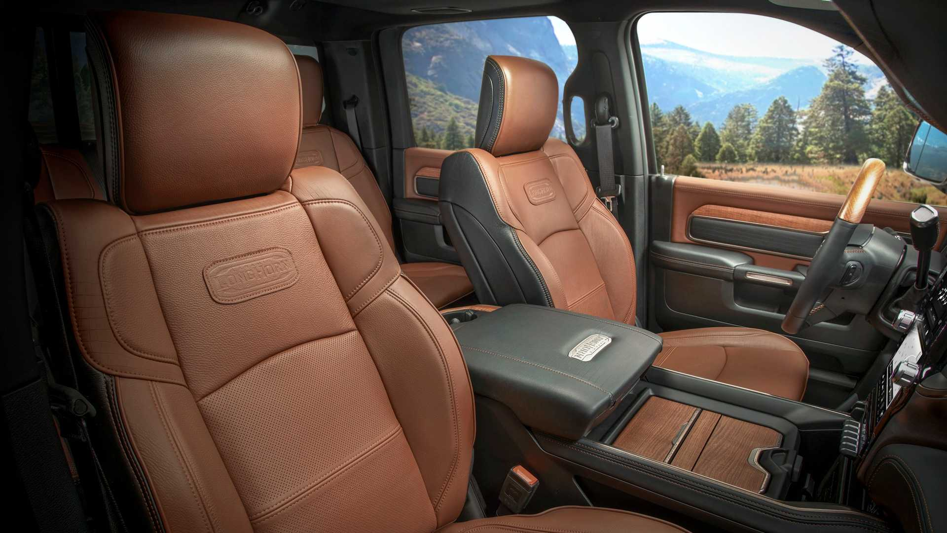 2019 Ram HD Laramie Longhorn Features Real Wood, Leather, Steel Trim - autoevolution