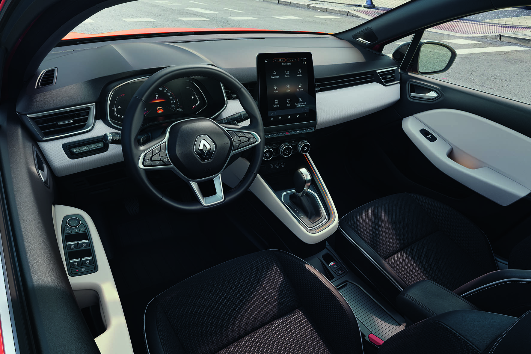 2019 Renault Clio V Interior Revealed, It's A Lot More ...