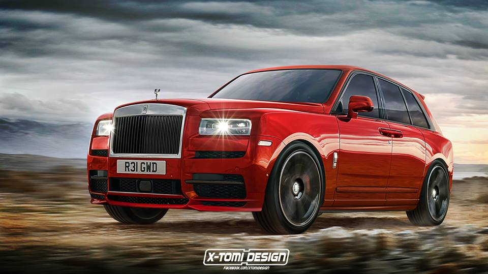 2019 Rolls-Royce Cullinan Rendered in Entry-Level Trim ...