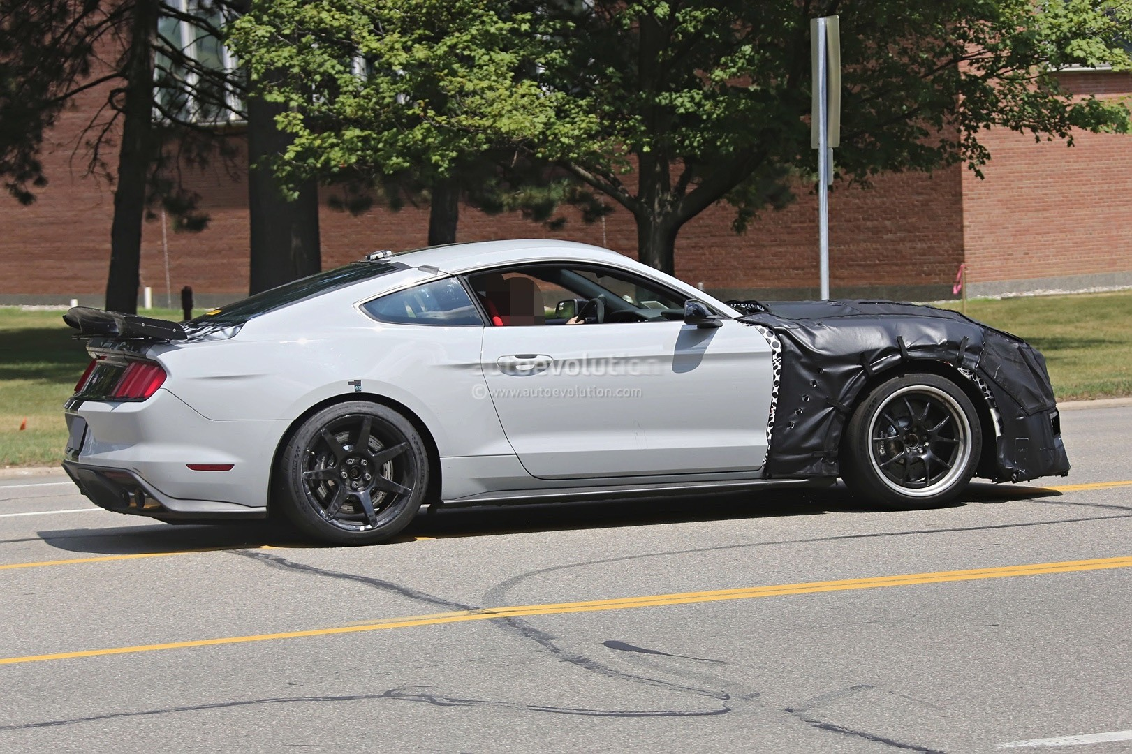2019 Shelby Gt500 Mustang Spied Benchmarking Against 2017