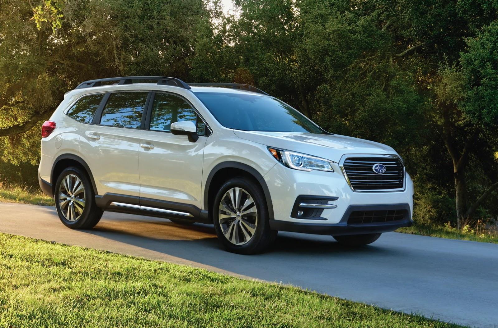 2019 Subaru Ascent Looks Like A Rival For The Honda Pilot