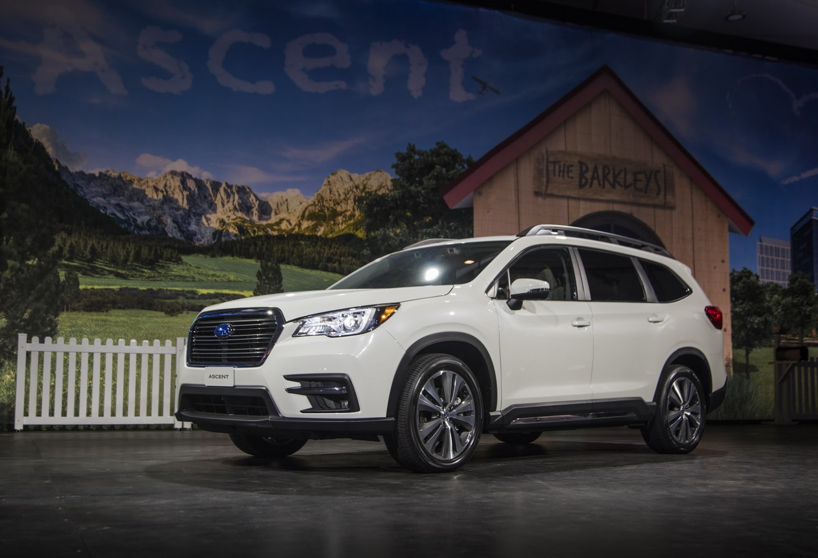 2019 Subaru Ascent Looks Like a Rival for the Honda Pilot - autoevolution