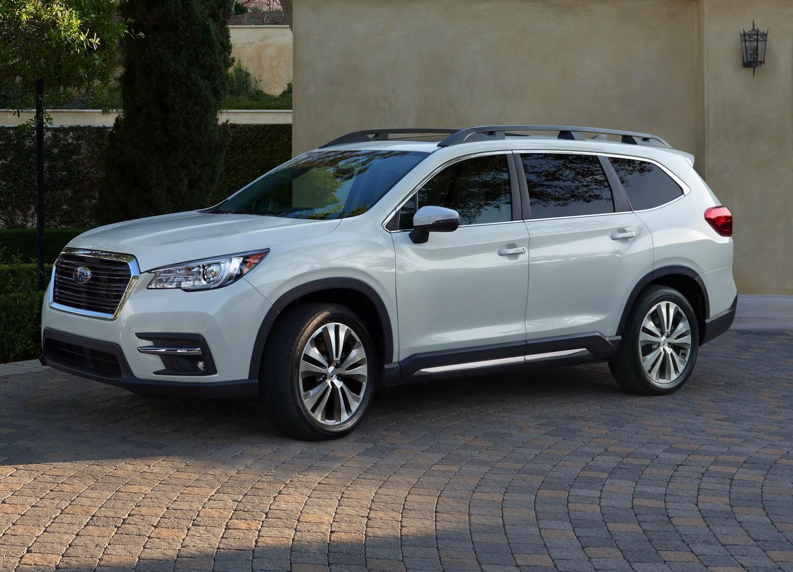 2019 Subaru Ascent Looks Like a Rival for the Honda Pilot ...