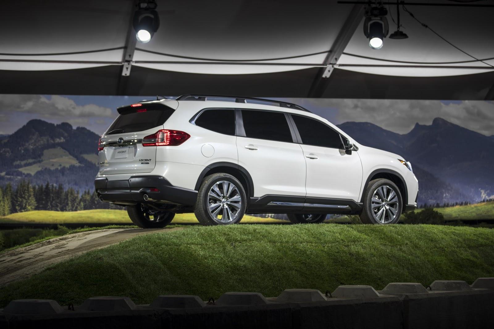 Subaru Outback Size Comparison >> 2019 Subaru Ascent Production Will Create New Jobs At Indiana Plant - autoevolution
