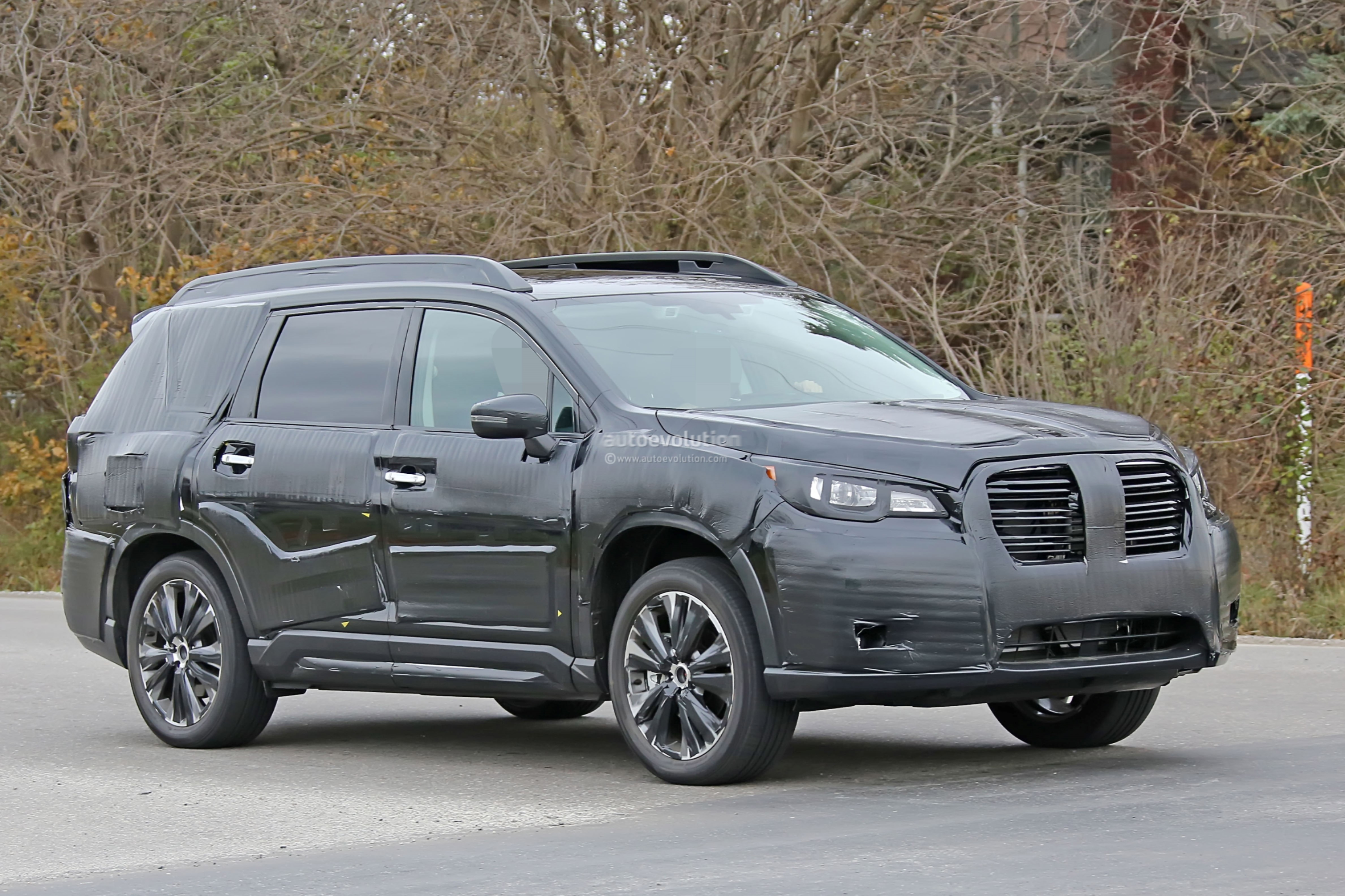 Subaru Ascent Teaser Shows Second And ThirdRow Seats - Cool cars with 3rd row seating