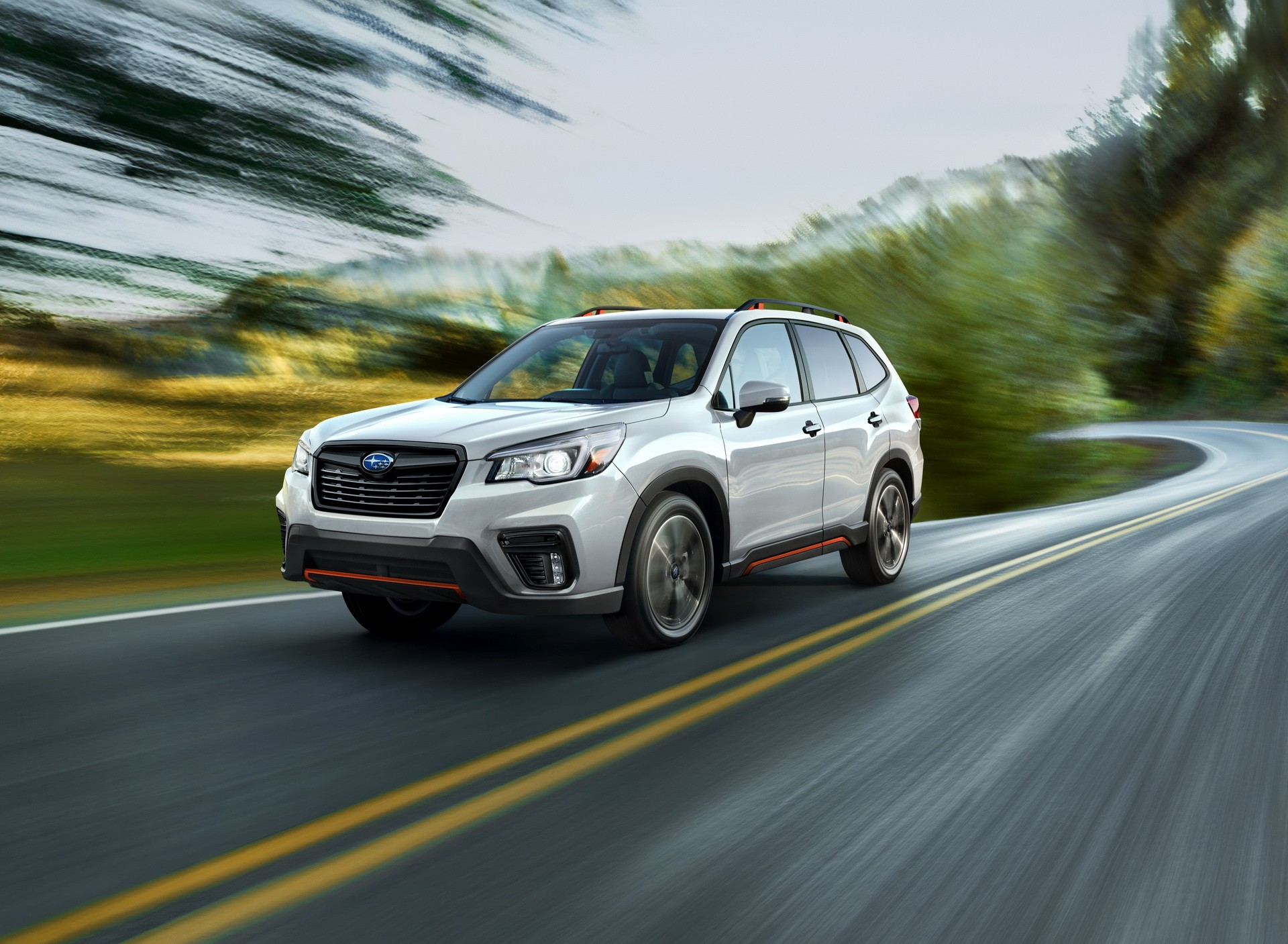 2019 subaru forester debuts in new york looks familiar yet new autoevolution. Black Bedroom Furniture Sets. Home Design Ideas