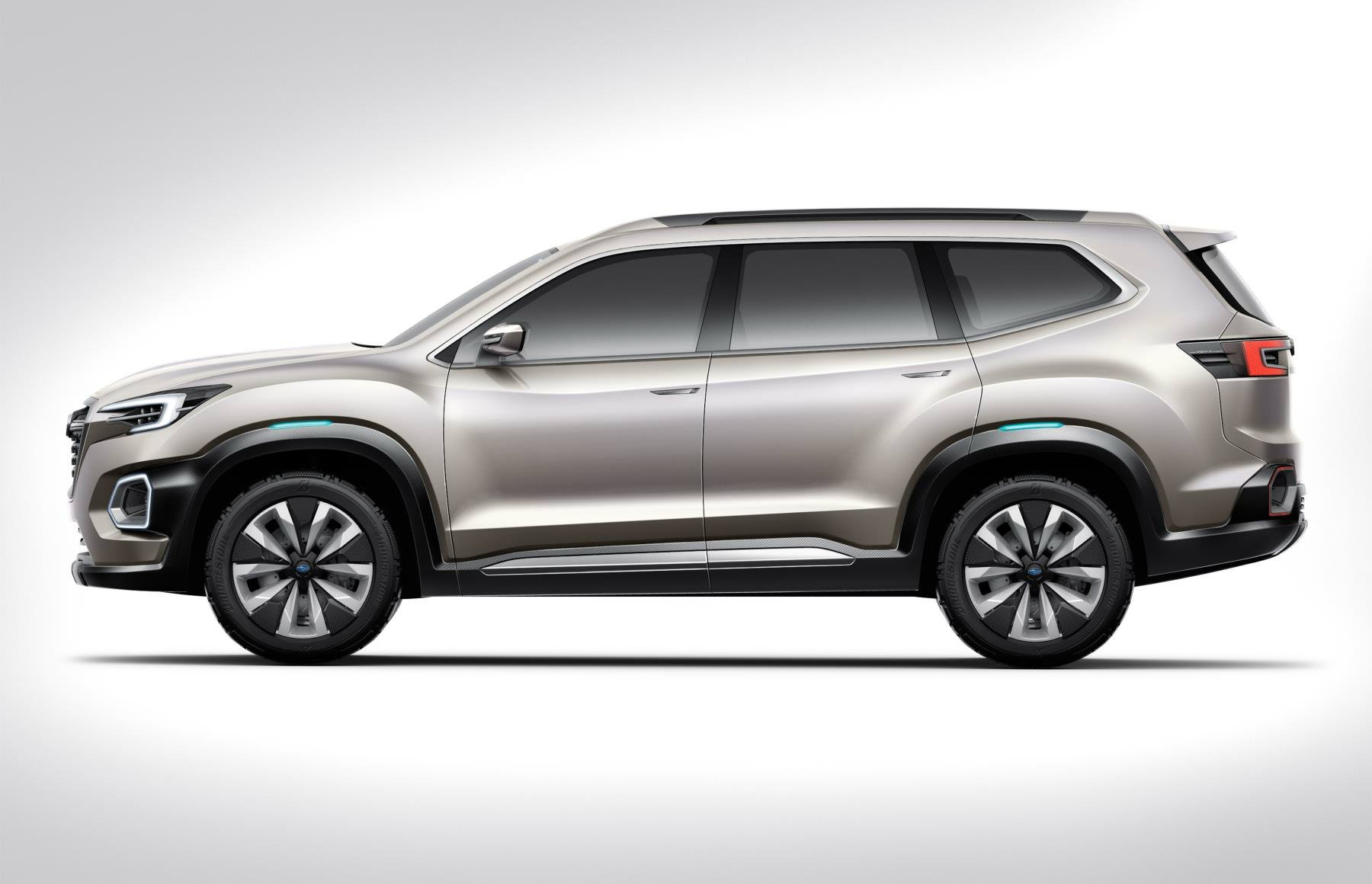 2019 Subaru Tribeca Mid-Size 7-Seat SUV Previewed by Viziv ...