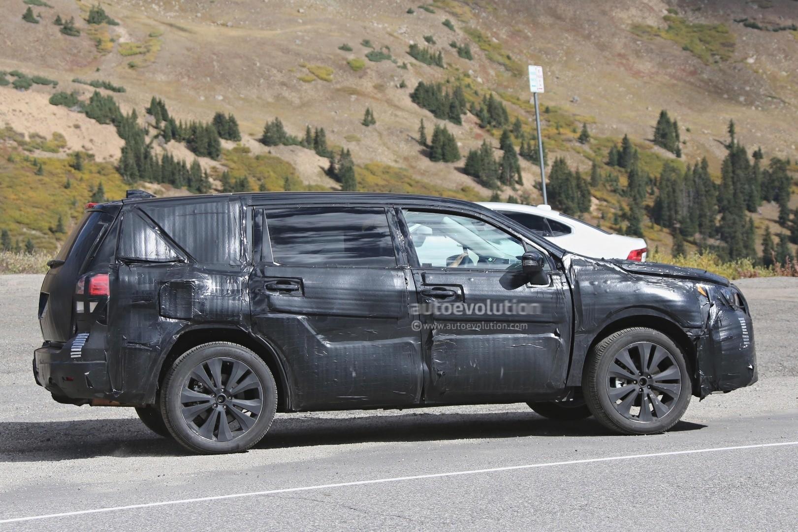 2019 Subaru Tribeca Mid Size 7 Seat Suv Previewed By Viziv