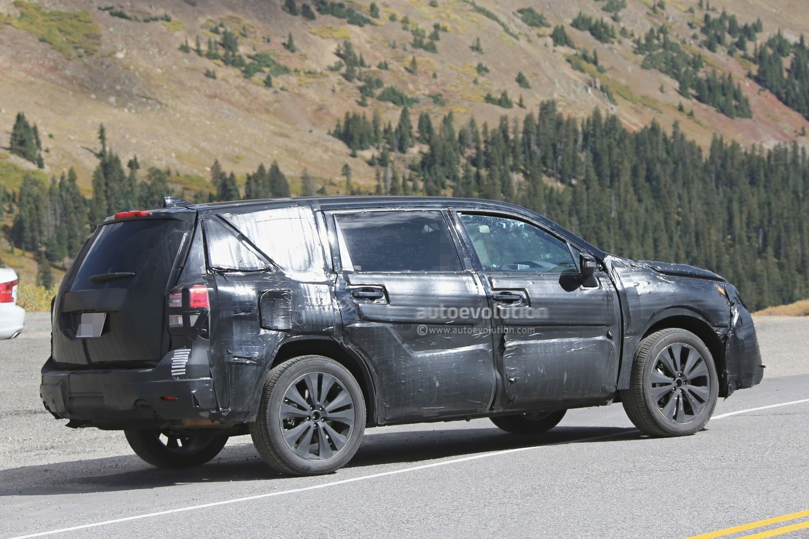 Tribeca Subaru 2016 >> 2019 Subaru Tribeca Mid-Size 7-Seat SUV Previewed by Viziv-7 Concept - autoevolution