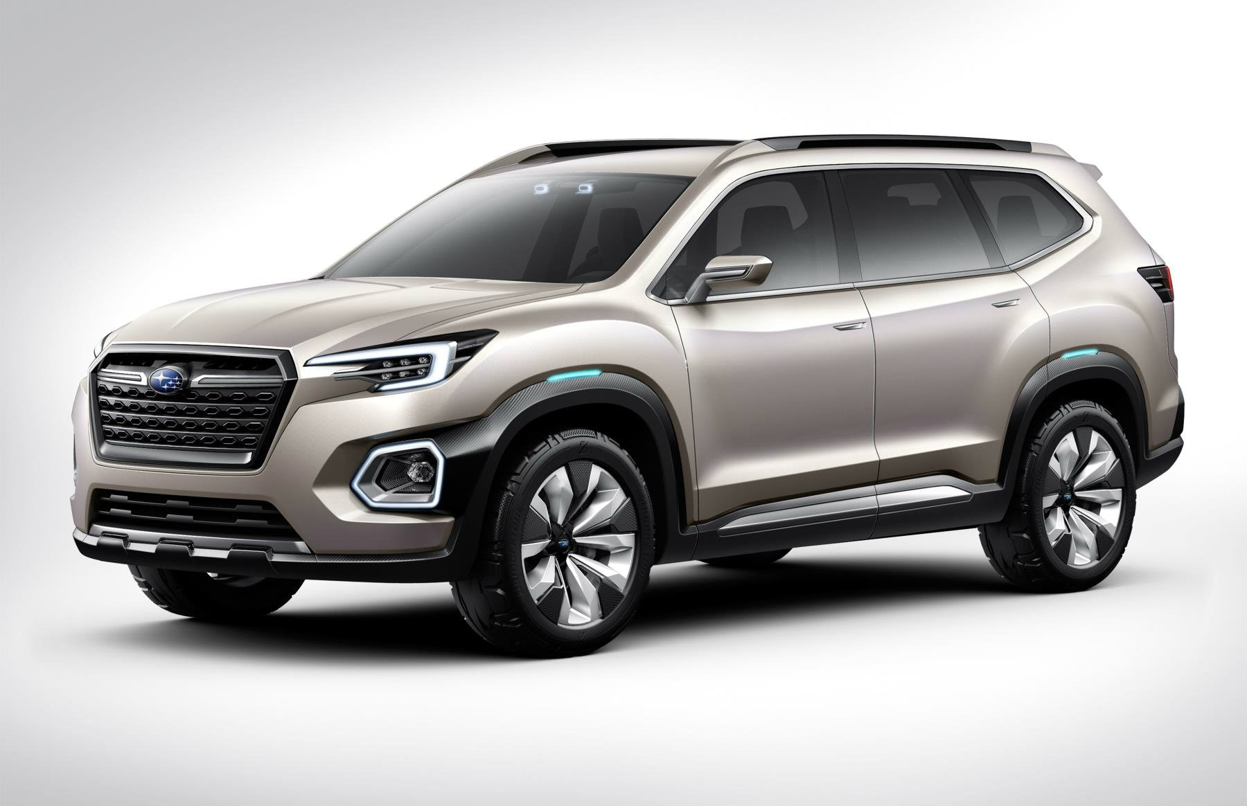 2019 Subaru Tribeca Mid Size 7 Seat Suv Previewed By Viziv