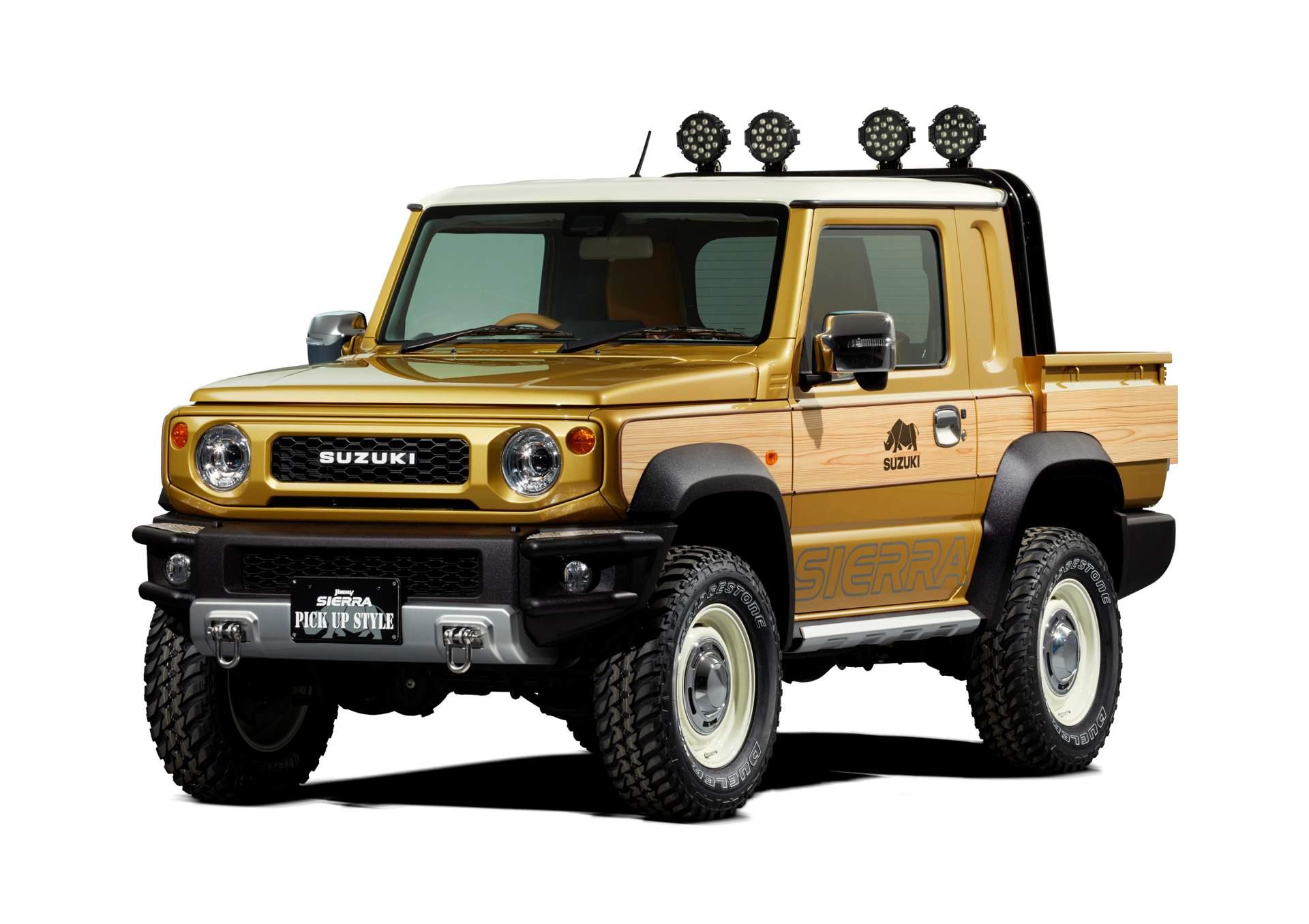 2019 Suzuki Jimny Turned Into Pickup Truck For Tokyo Auto ...