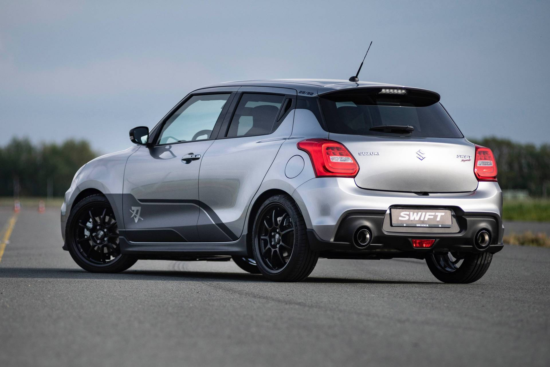2019 Suzuki Swift Sport Gets Katana Edition In The