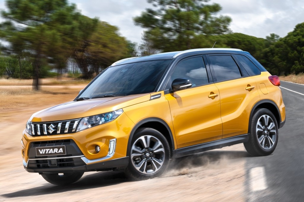 2019 suzuki vitara gets new photo gallery ahead of paris. Black Bedroom Furniture Sets. Home Design Ideas