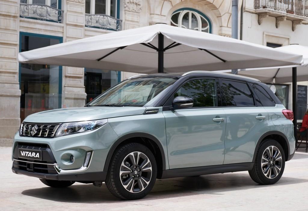 Used Honda Hrv >> 2019 Suzuki Vitara Gets New Photo Gallery Ahead of Paris Debut - autoevolution
