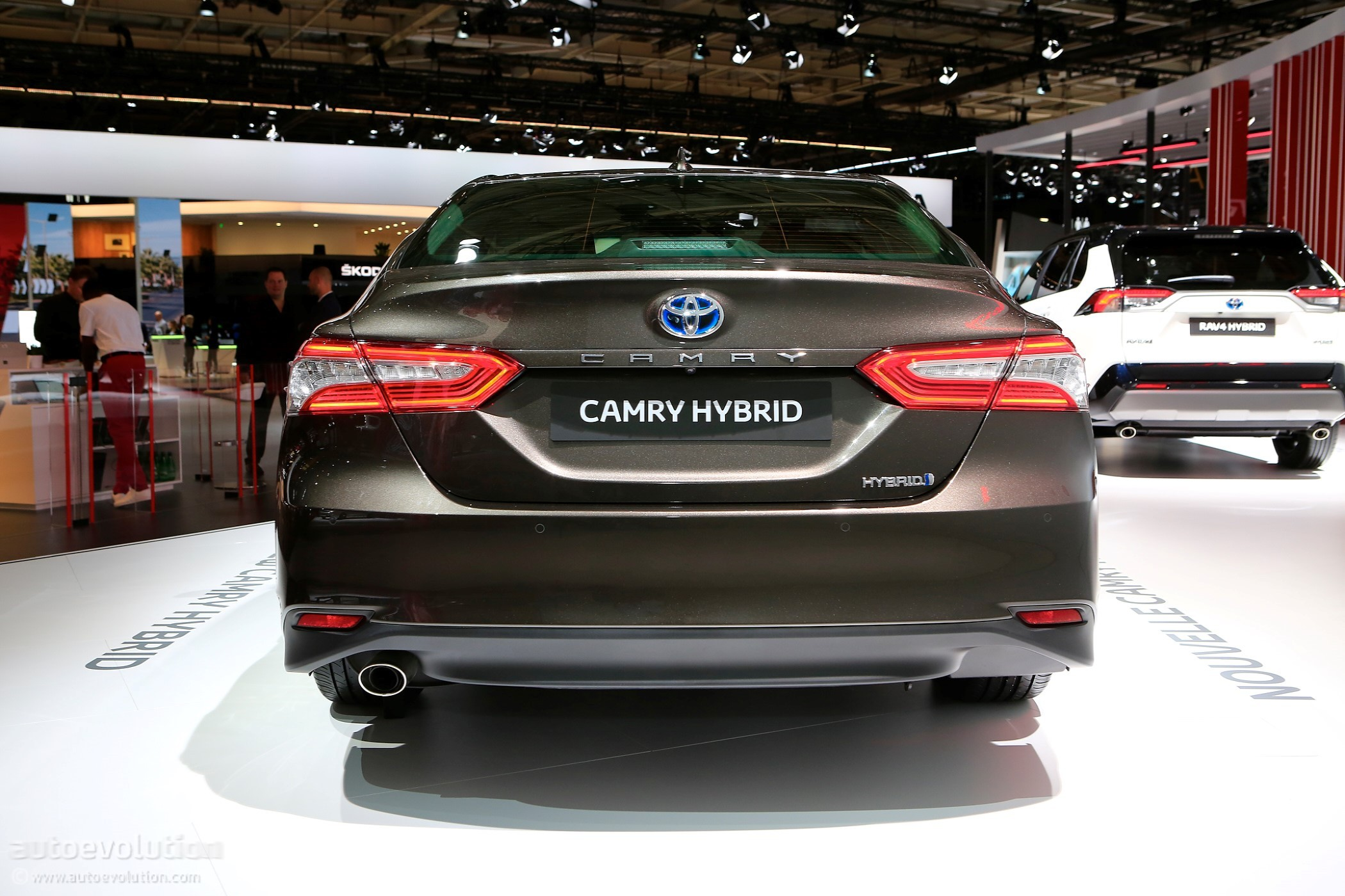 2019 Toyota Camry Shows Up In Paris With Hybrid Powertrain