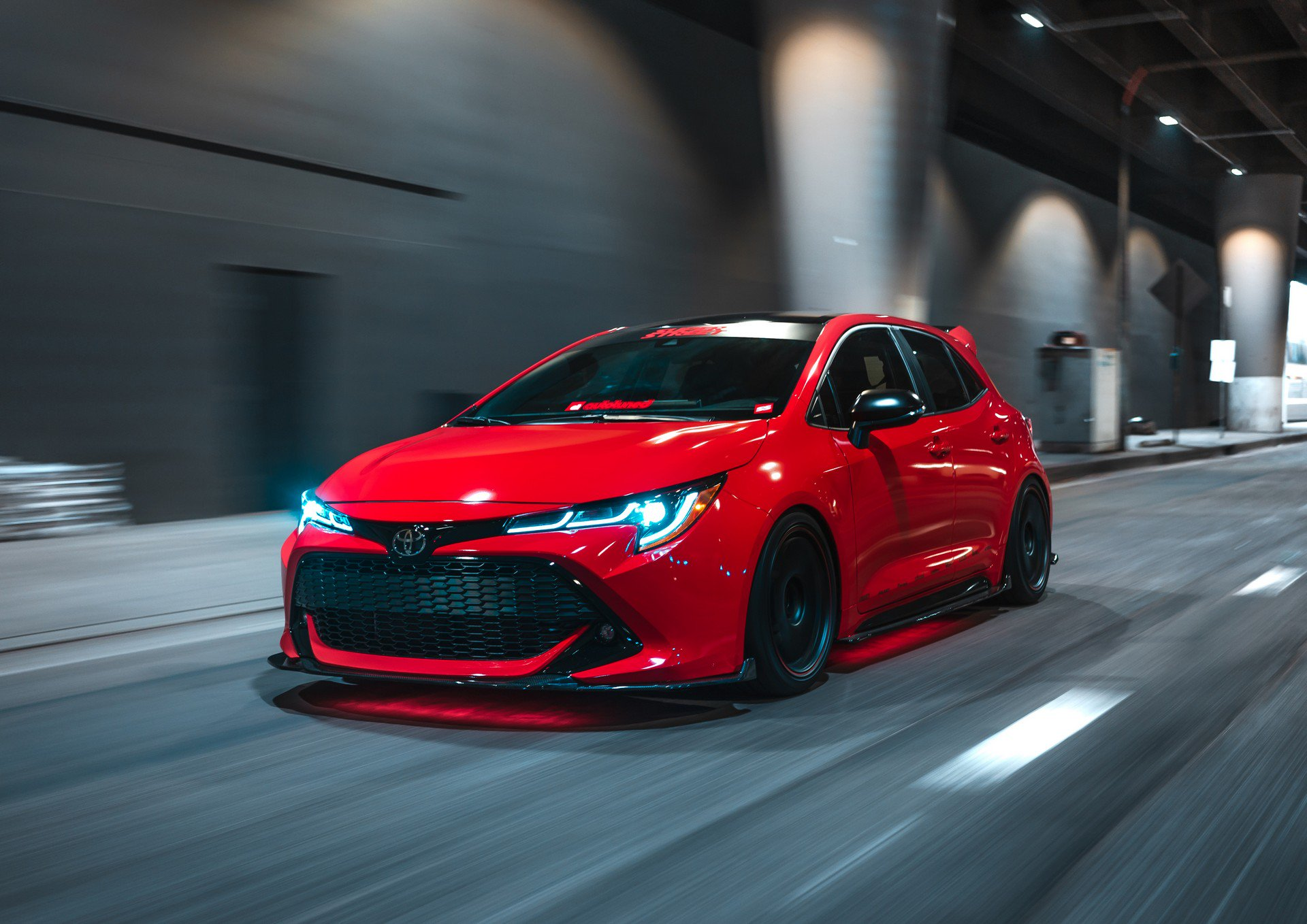 2019 Toyota Corolla Hatch Sema Tuning Projects Will Blow