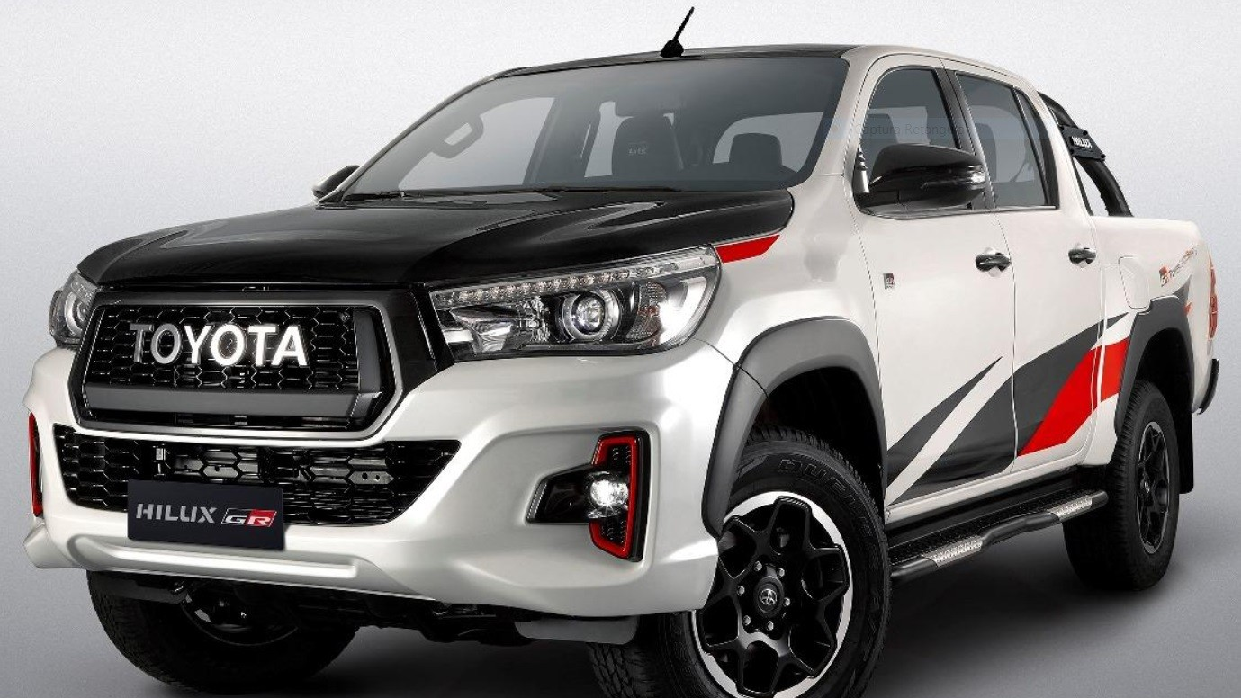 2019 Toyota Hilux GR Sport Doesn't Look Half Bad ...
