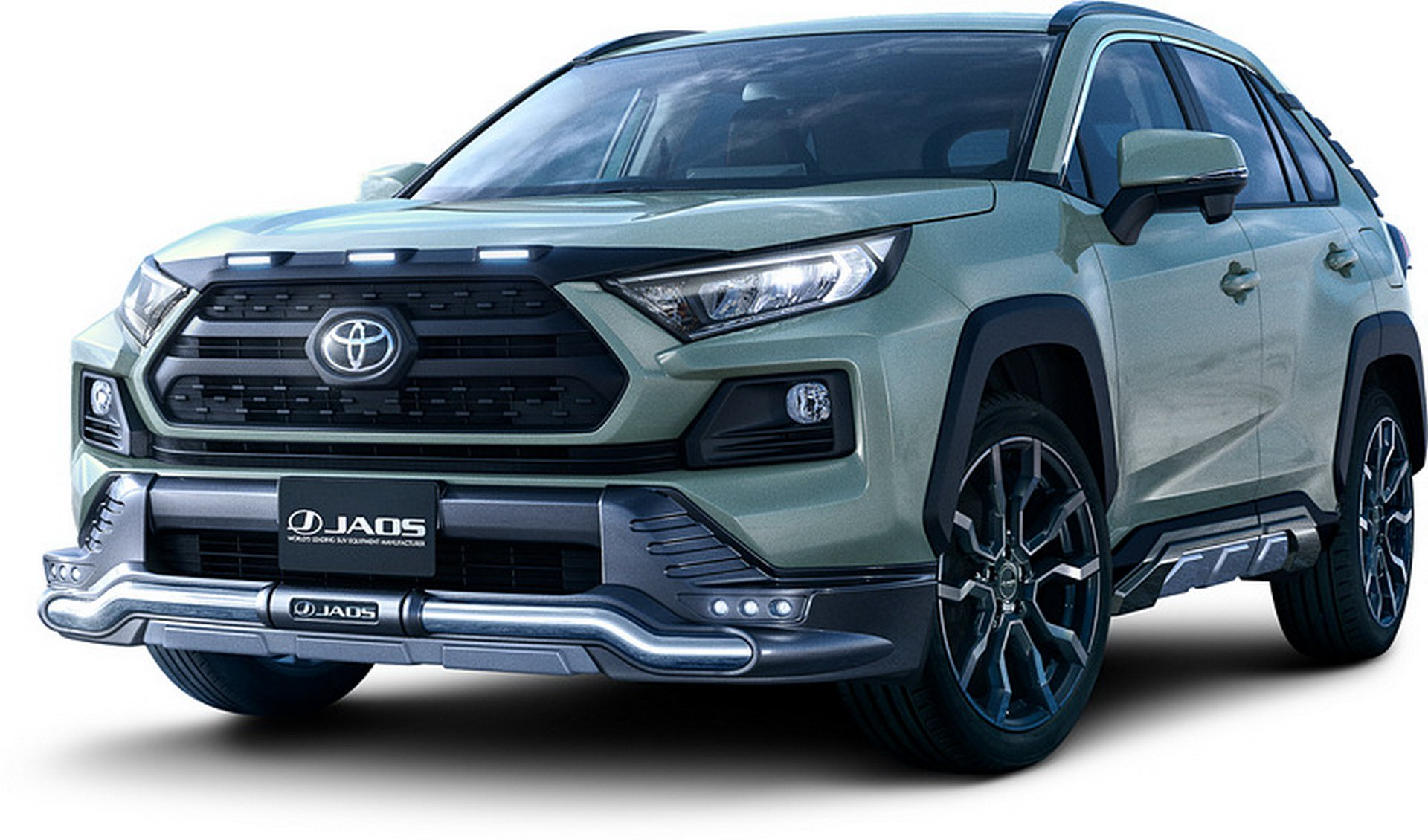 2019 Toyota Rav4 Now Available With Trd Modellista Accessories In Japan Autoevolution