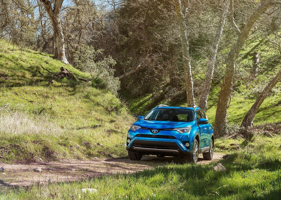 Toyota RAV4 Teased Ahead of NYC Reveal