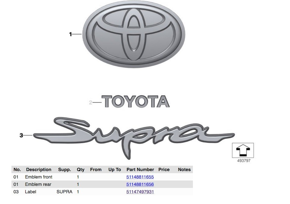 2019 toyota supra diagrams reveal automatic transmission shifter_5 2019 toyota supra diagrams reveal automatic transmission shifter