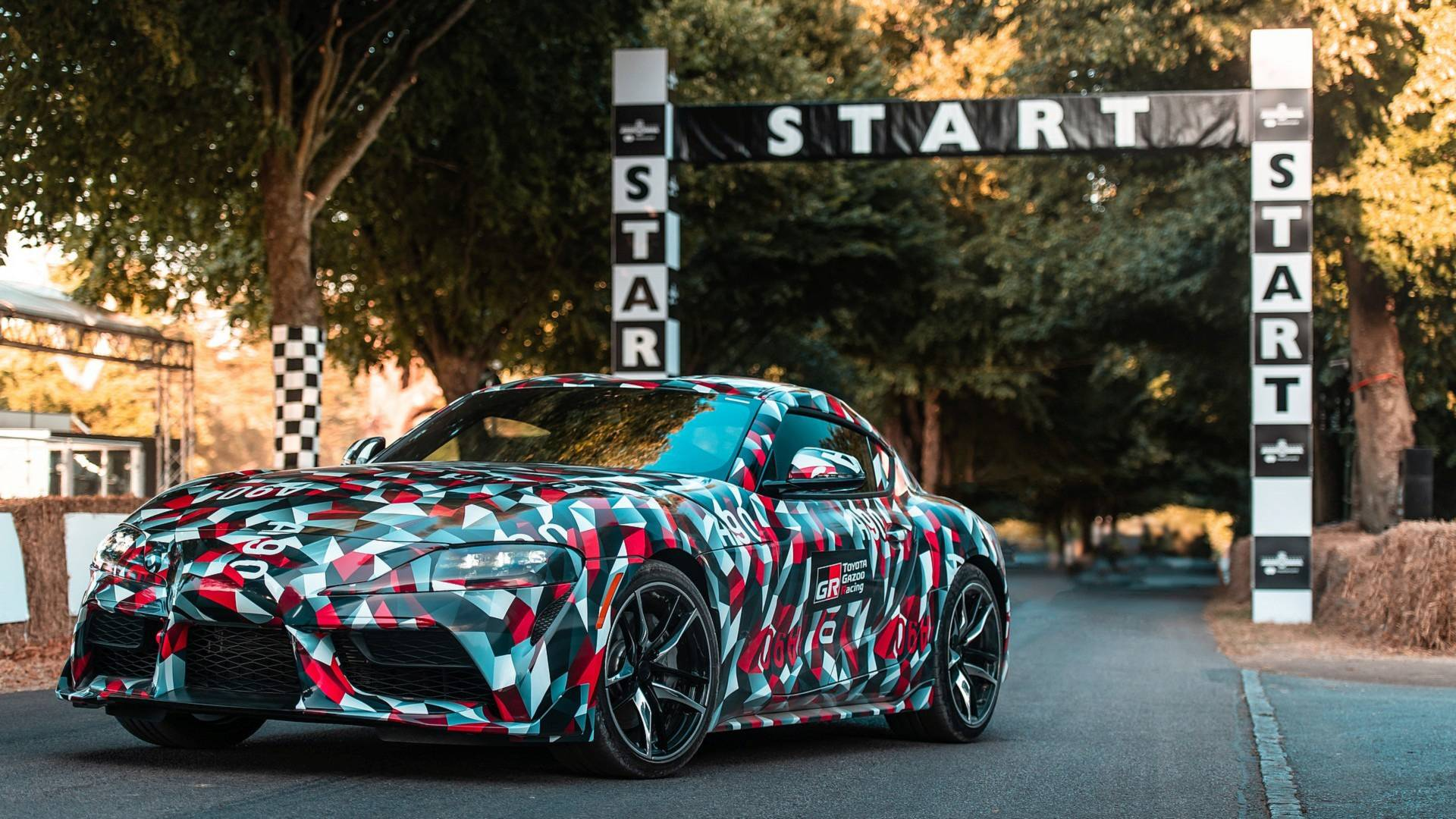 2019 Toyota Supra Sounds Good Looks Slow At The Goodwood