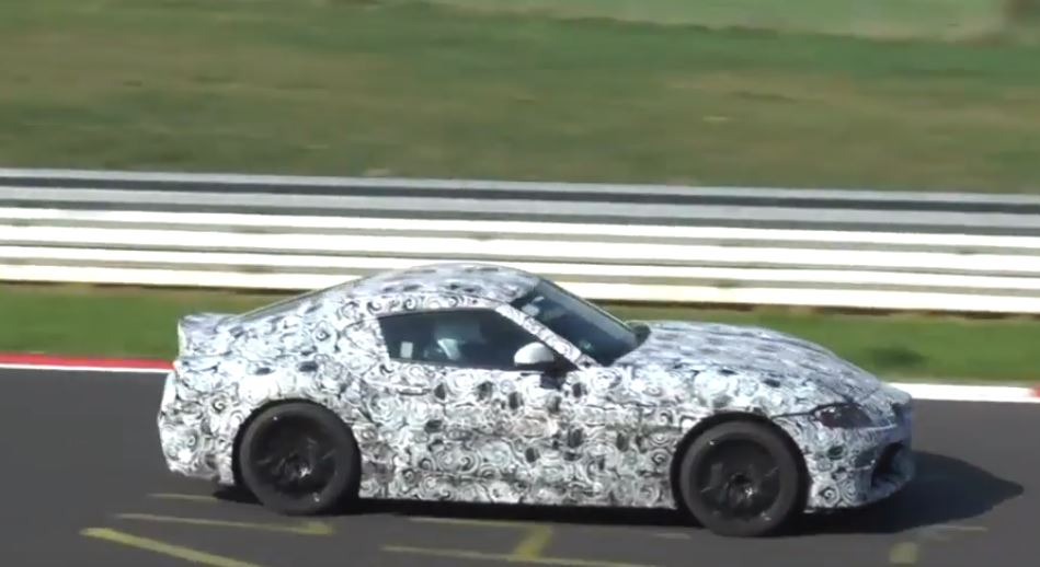 2019 Toyota Supra Spied Blitzing The Nurburgring Could