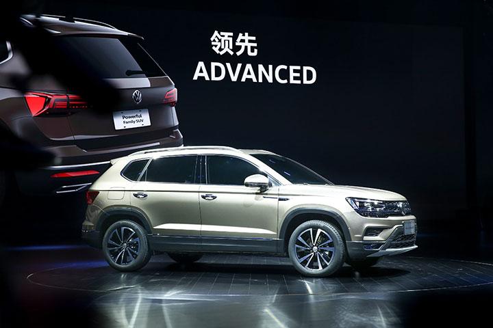 2019 Volkswagen Advanced Mid Size Suv
