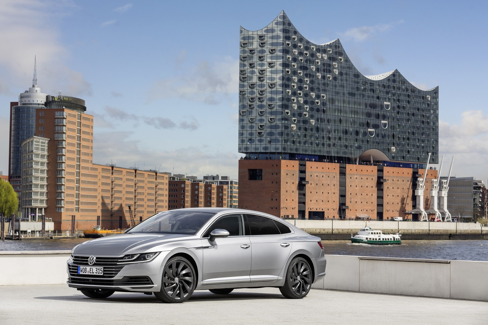2019 volkswagen arteon to debut at chicago auto show autoevolution. Black Bedroom Furniture Sets. Home Design Ideas