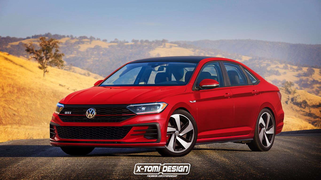 2019 Volkswagen Jetta GLI And R Rendered