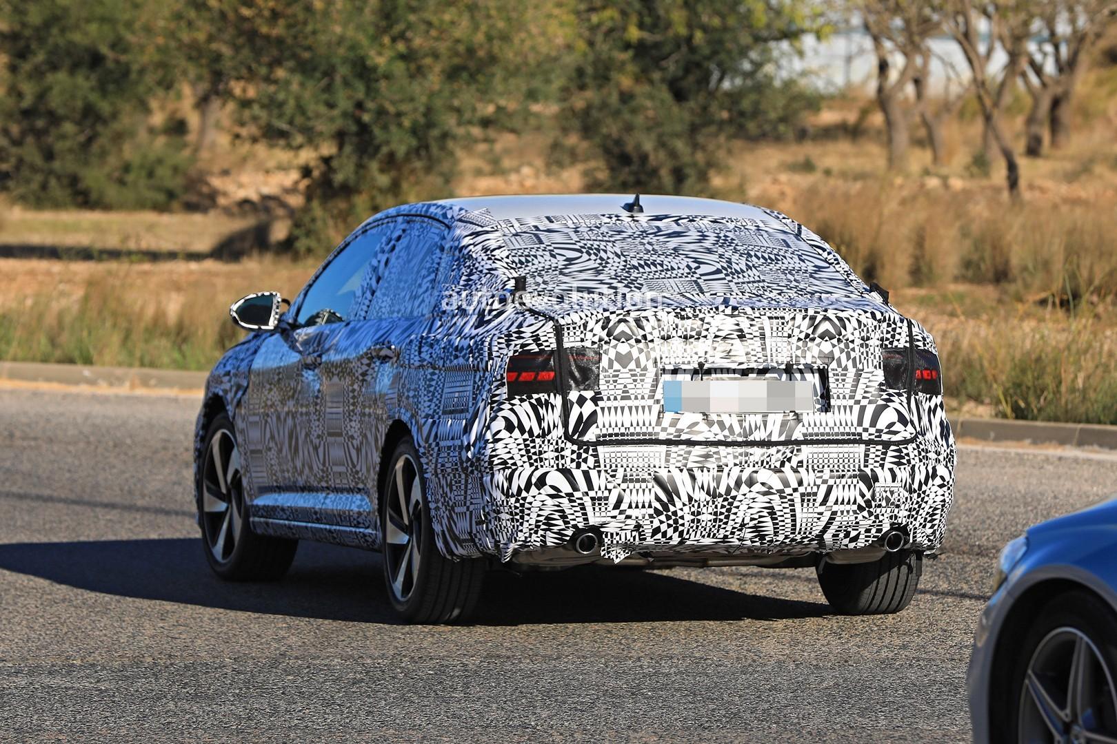 Spyshots 2019 Volkswagen Jetta Gli Has Gti Twin Exhaust