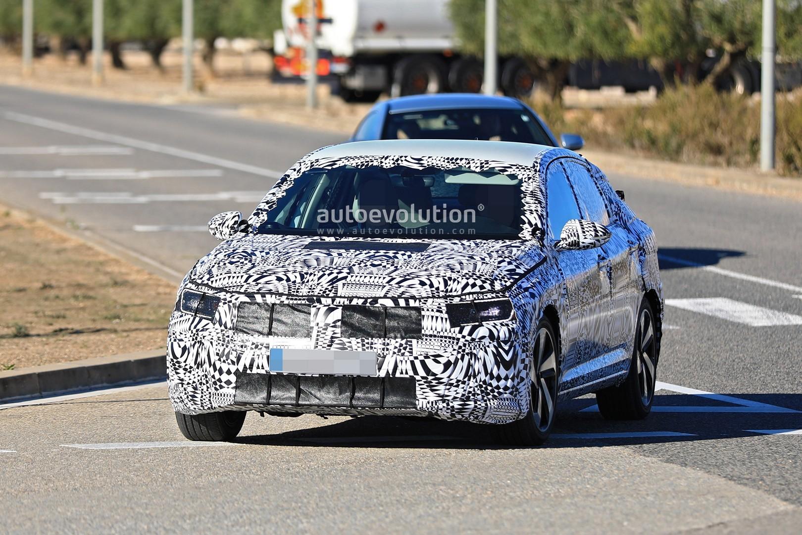 Spyshots: 2019 Volkswagen Jetta GLI Has GTI Twin Exhaust and 18-Inch Wheels - autoevolution