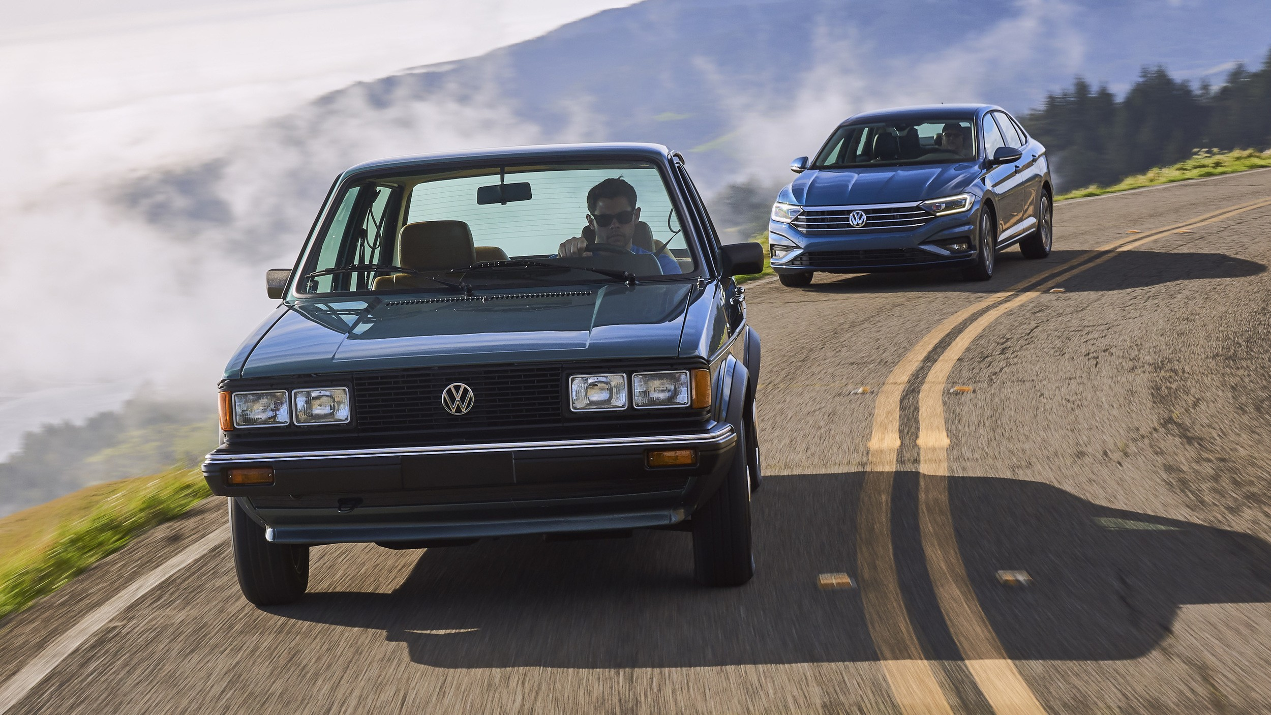 2019 Volkswagen Jetta Meets the 1982 Original - autoevolution