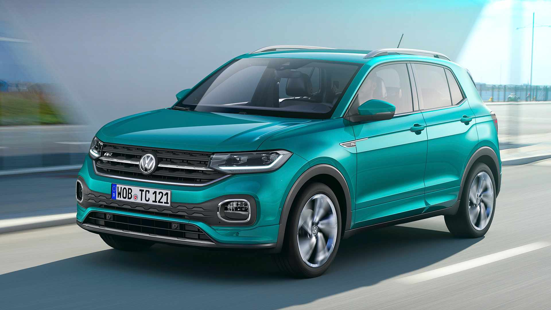 2019 volkswagen t cross finally goes official autoevolution. Black Bedroom Furniture Sets. Home Design Ideas