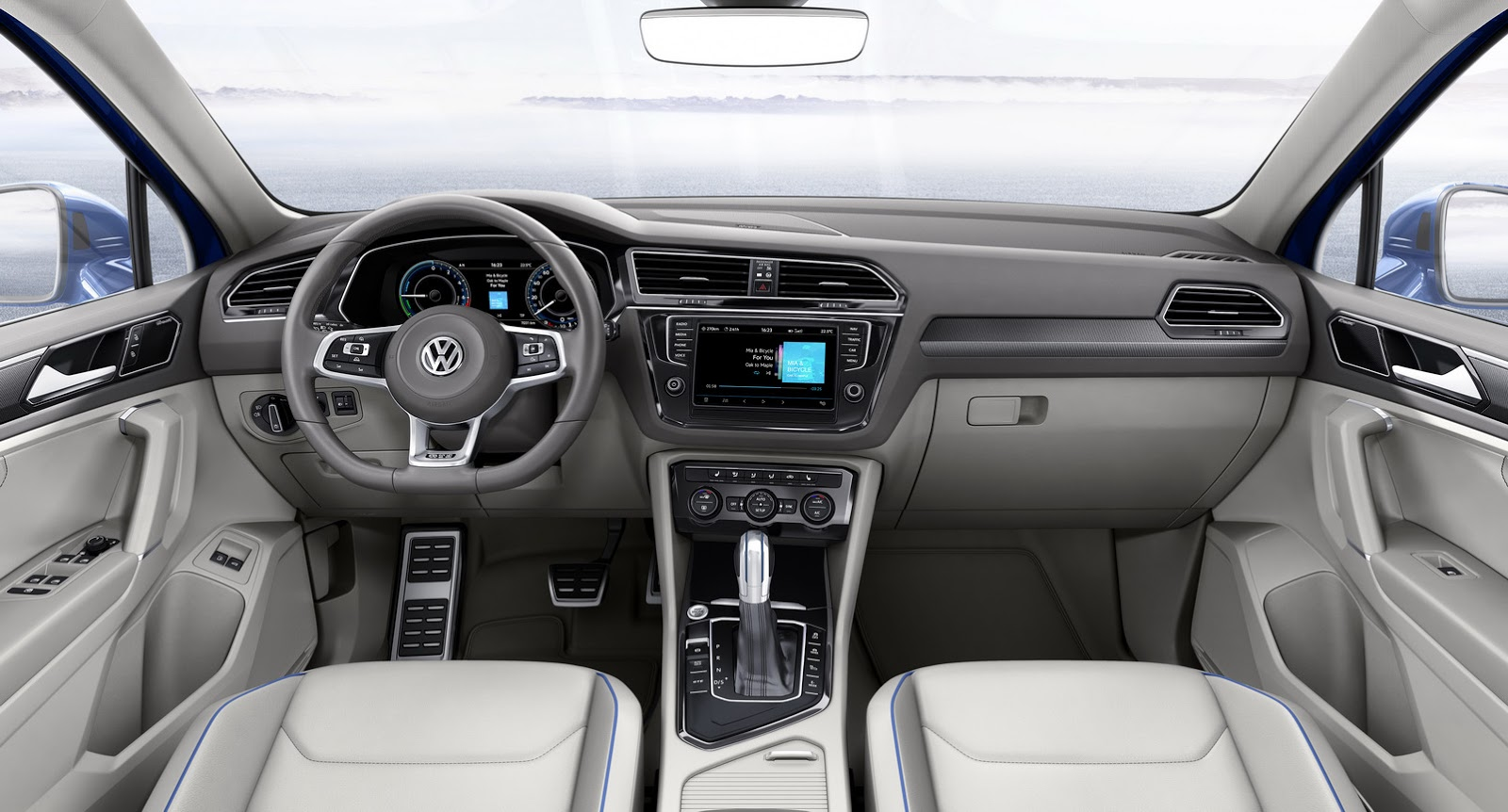 Spyshots: 2019 Volkswagen Tiguan GTE Has Tiguan L 430 PHEV Badging - autoevolution