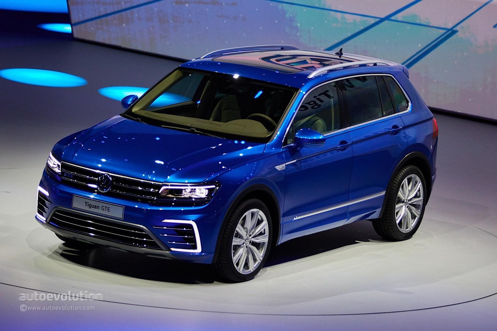spyshots 2019 volkswagen tiguan gte has tiguan l 430 phev badging rh autoevolution com Volkswagen Passat 2015 Volkswagen Tiguan