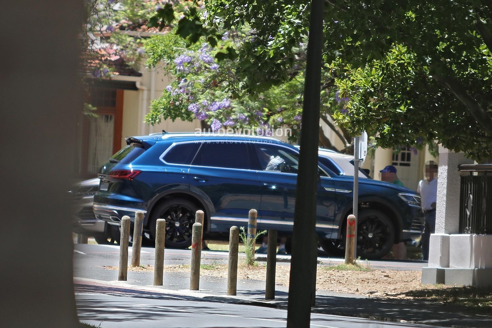 Volkswagen Touareg 2019 >> 2019 Volkswagen Touareg Revealed in Full by Latest Spy Photos - autoevolution