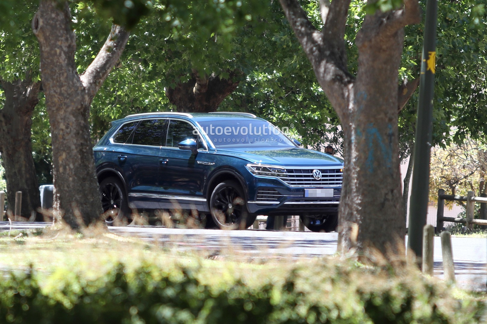 Official Rendering of the All New Volkswagen Touareg - autoevolution
