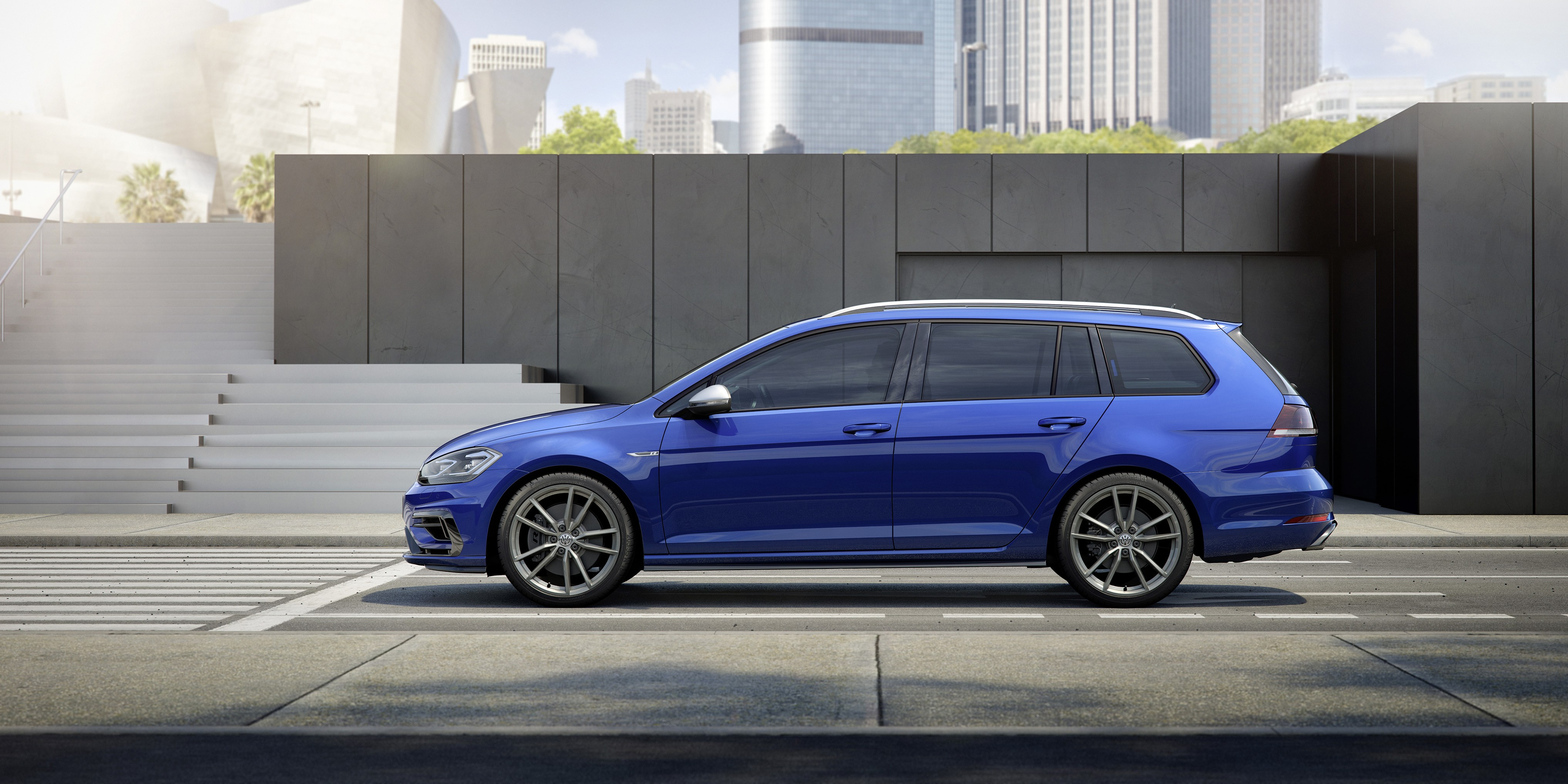 2019 Vw Golf R Variant Will Have 347 Hp And Sleek Styling