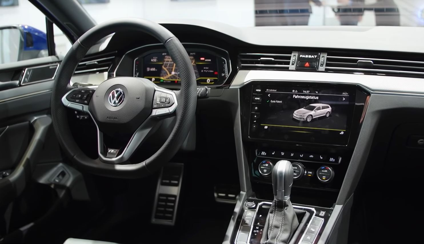 2019 VW Passat B8 Facelift Gets Detailed Walkaround Video: Inside and Out - autoevolution