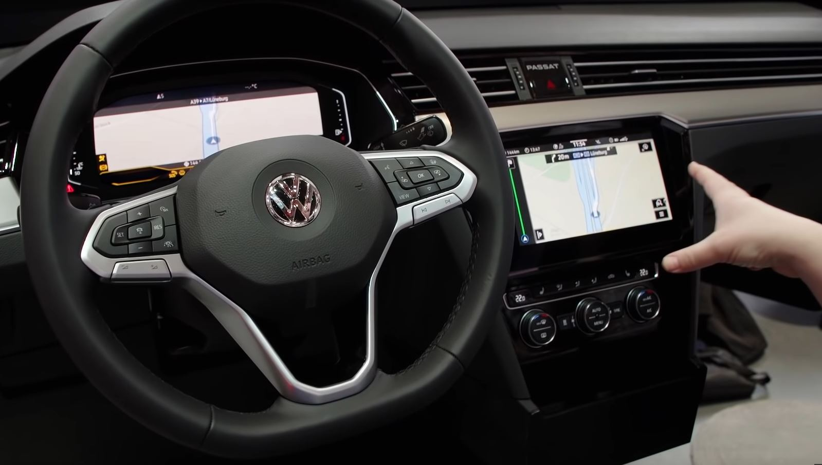 2019 Vw Passat B8 Facelift Gets Detailed Walkaround Video Inside And Out Autoevolution