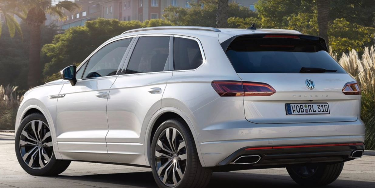 2019 Vw Touareg Coupe Rendered As Budget Range Rover Sv