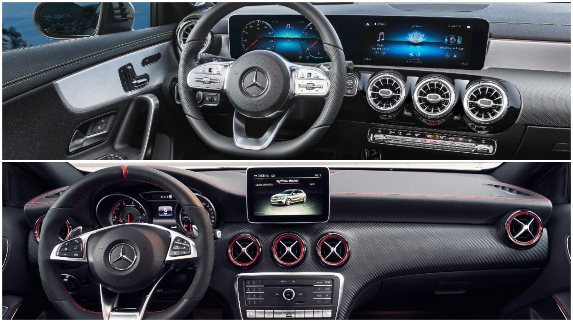 Photo Comparison 2019 W177 Mercedes A Class Vs Old W176