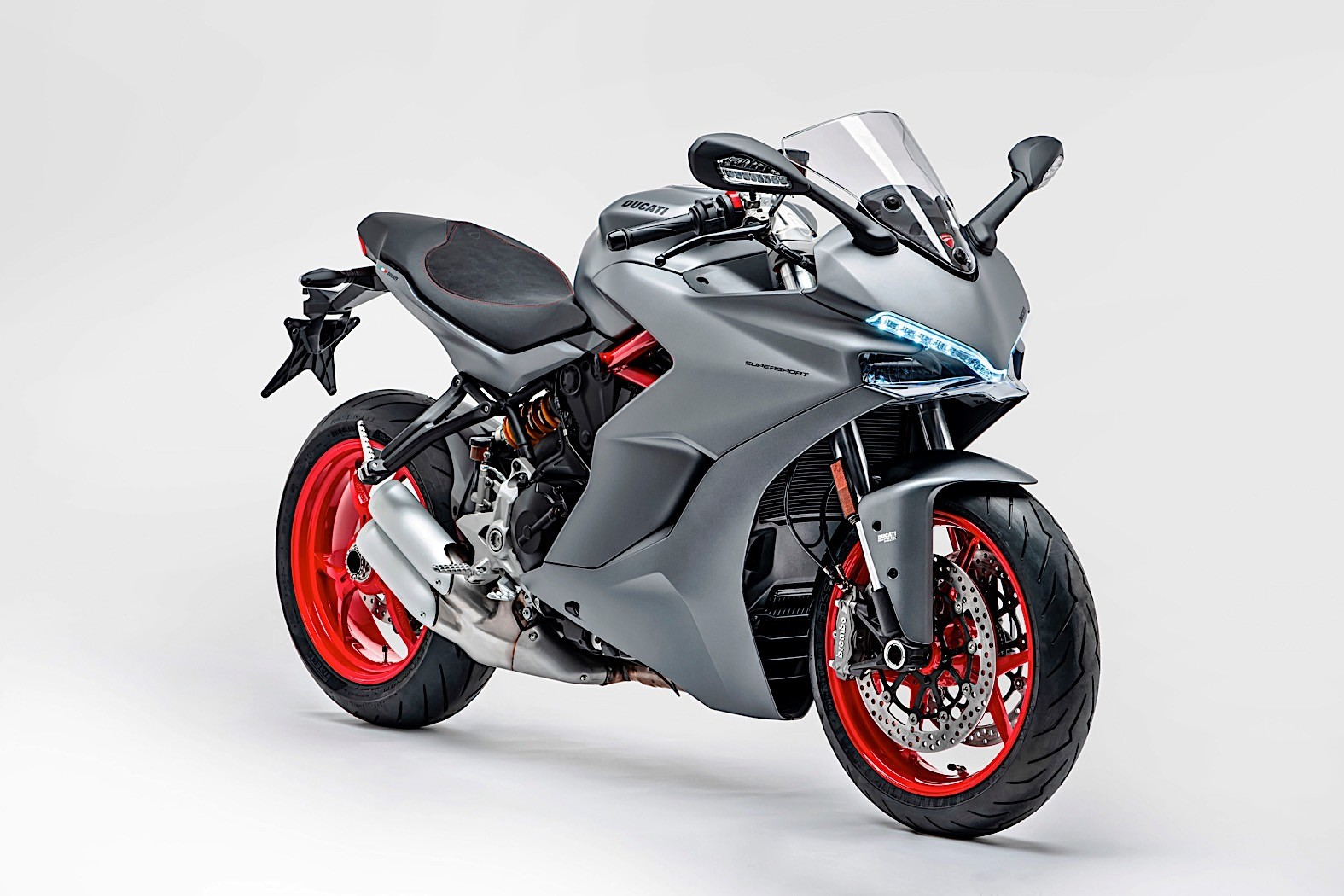2019 Ducati Supersport Drops The Usual Red For New