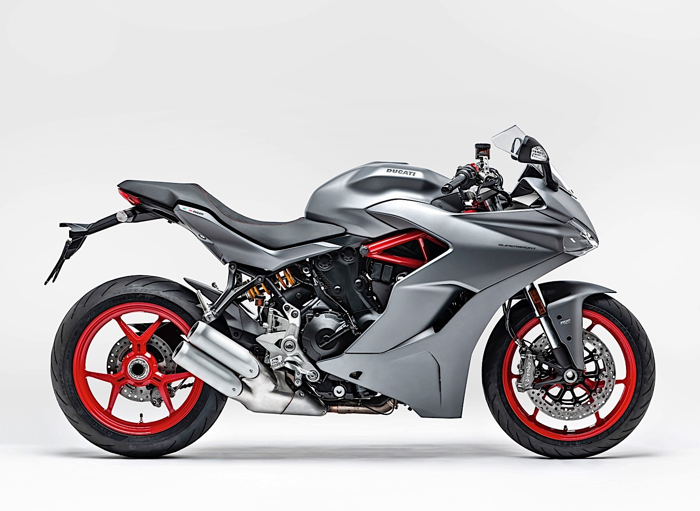 Home Decorating Company 2019 Ducati Supersport Drops The Usual Red For New