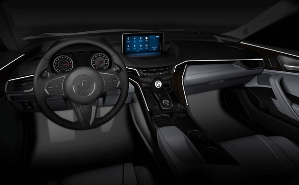 2020 acura mdx  2021 acura tlx leaked by rdx head unit