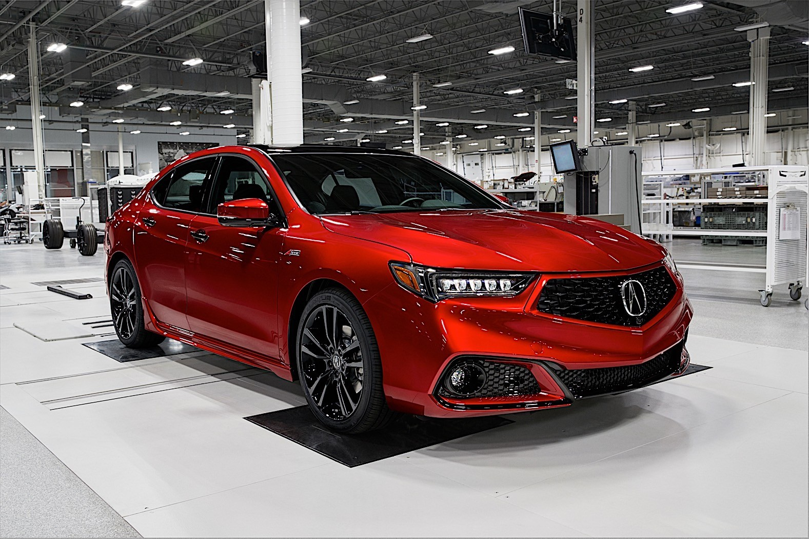 2020 Acura TLX PMC Edition Ready for New York Debut ...