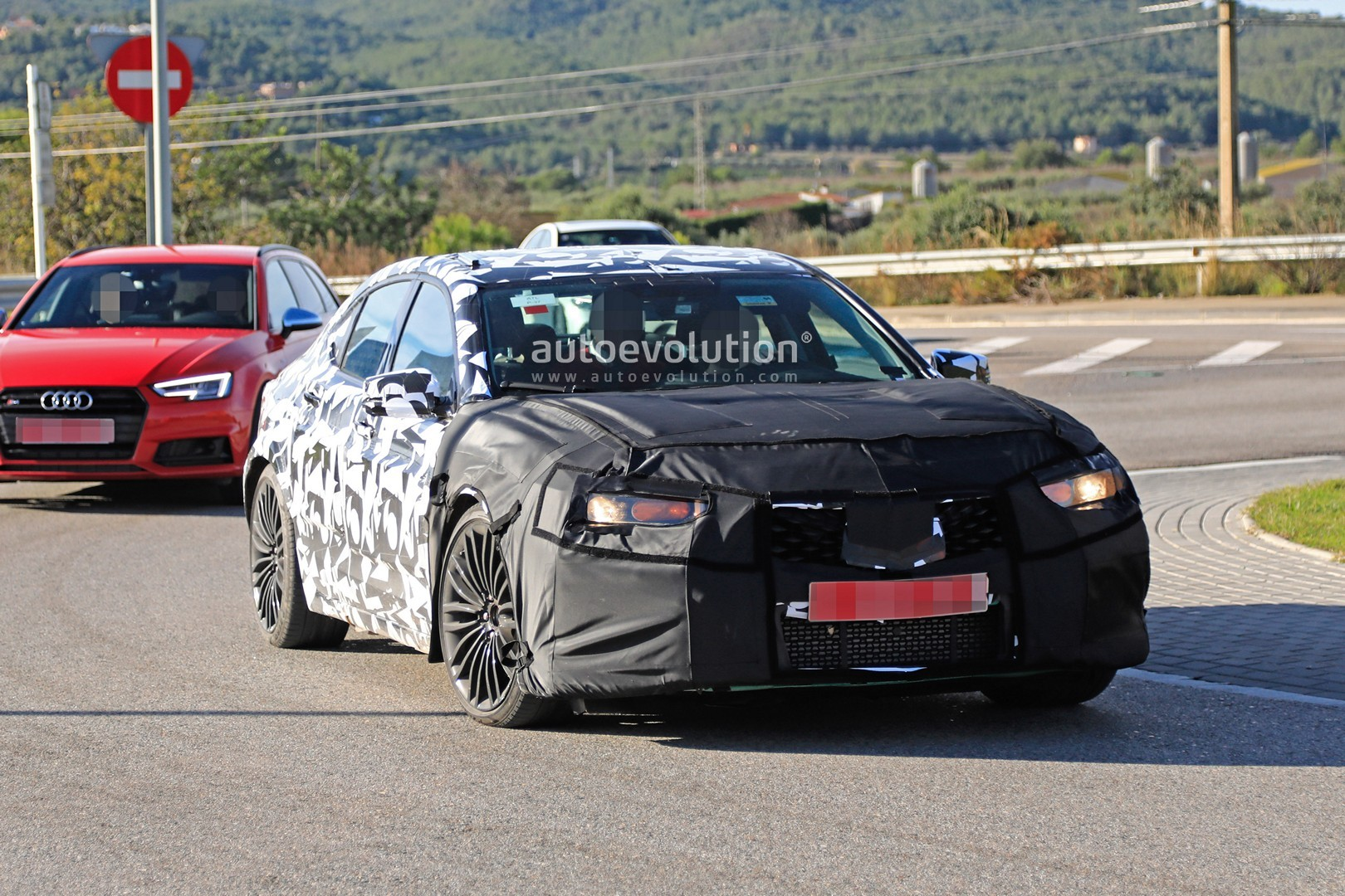 2020 Acura TLX Type S, Redesign, Engine & Pricing >> 2020 Acura Tlx Type S Spied With Audi S4 And Amg C43 V6 Turbo