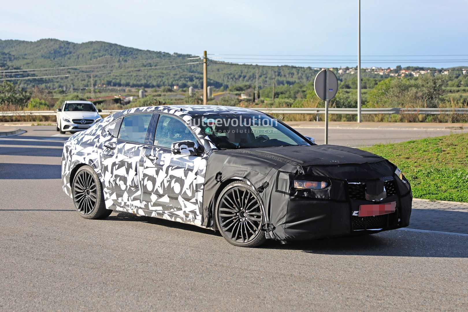Acura Tlx Type S Spied With Audi S And Amg C V Turbo Rumored