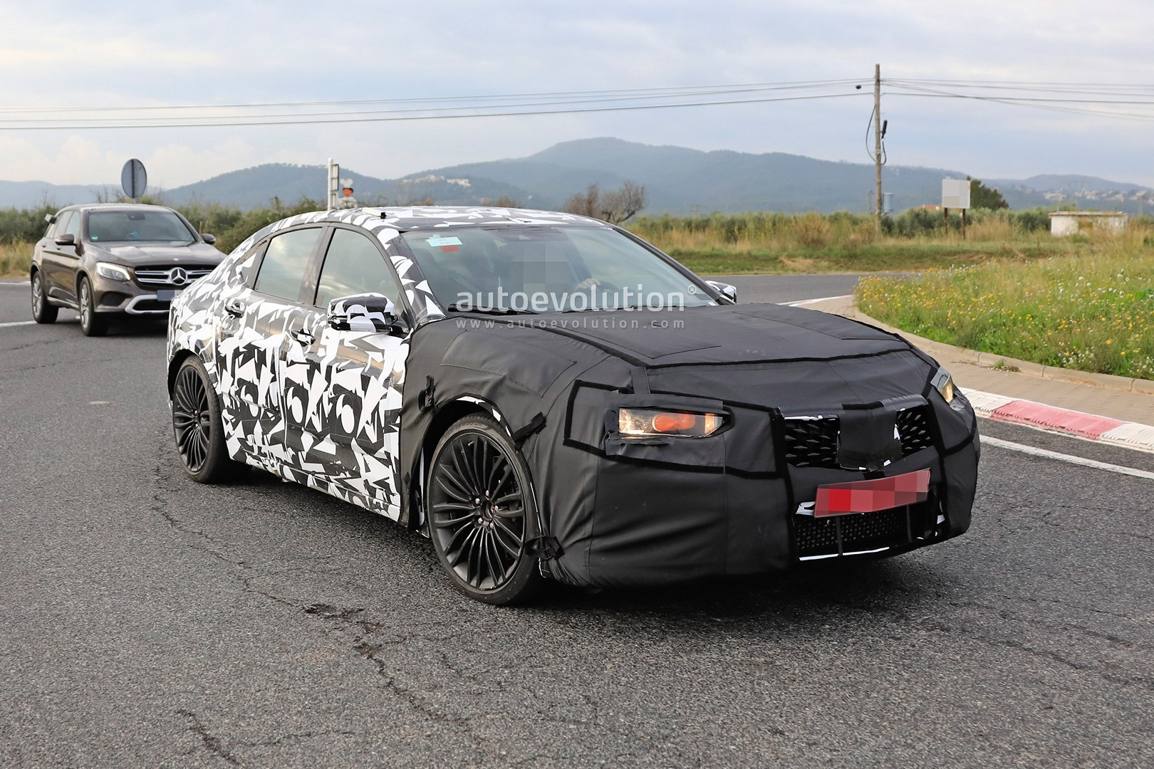 2020 Acura Tlx Type S Spied With Audi S4 And Amg C43 V6 Turbo Rumored