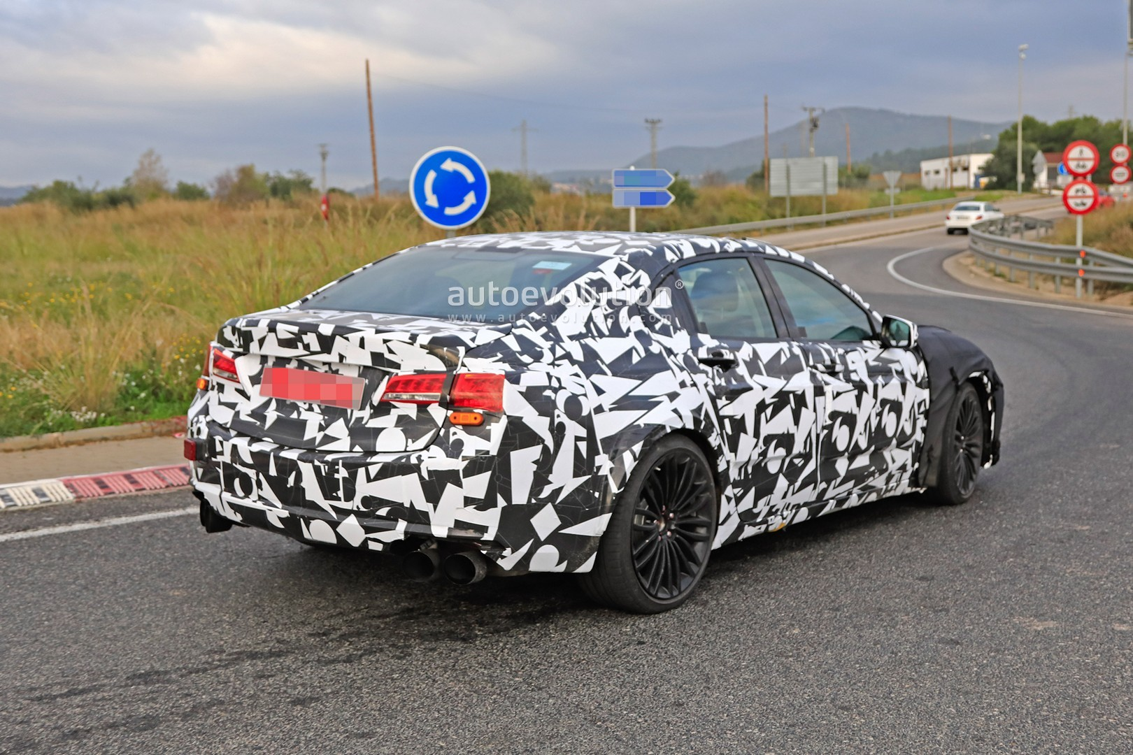 2020 Acura Tlx Type S Spied With Audi S4 And Amg C43 V6 Turbo